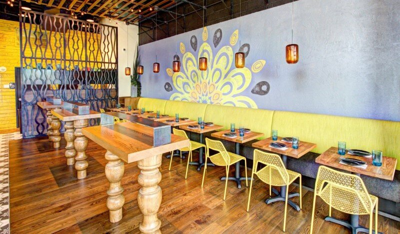 Pepita restaurant – Central American cantina concept, modernized and colorful