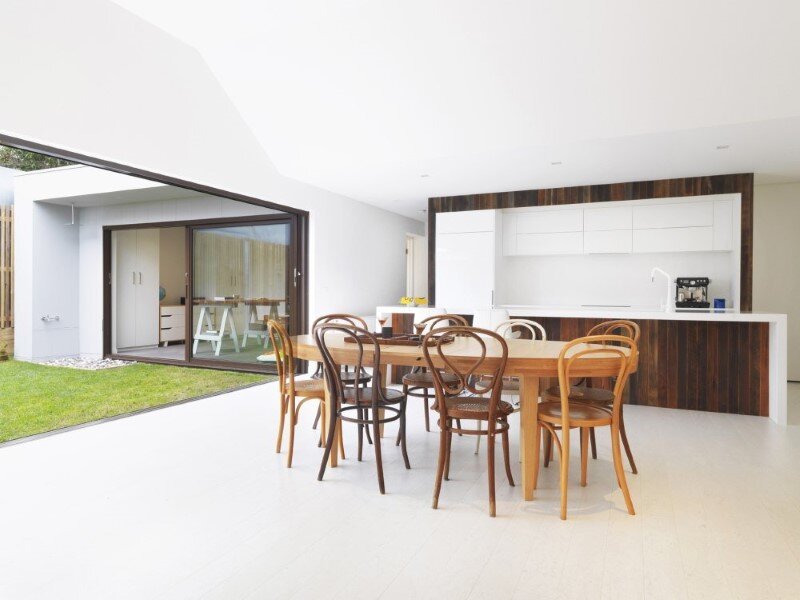 St Kilda House by Jost Architects  -  complete revival of a 1850's cottage (14)