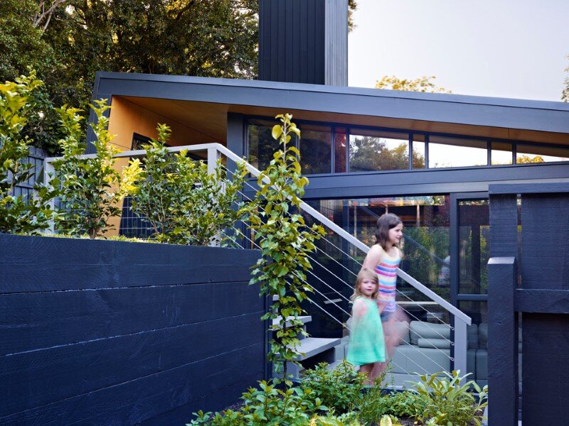 Suburban house extension with environmentally sustainable design (6)