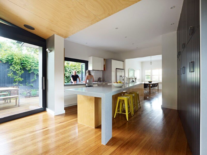 Suburban House Extension With Environmentally Sustainable