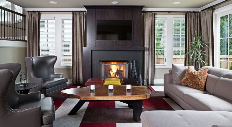 the interior of this stunning dey residence was designed by detroit based interior designer jeffrey - Detroit Interior Designers