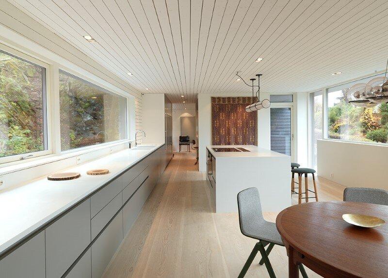 Villa S by Saunders Architecture, in Bergen, Norway (12)