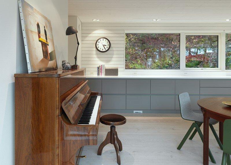 Modern Villa by Saunders Architecture, in Bergen, Norway (13)
