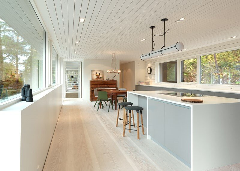 Contemporary Villa by Saunders Architecture, in Bergen, Norway (14)