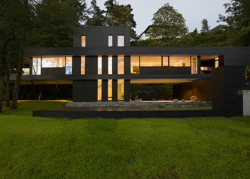 Modern Villa by Saunders Architecture, in Bergen, Norway (2)