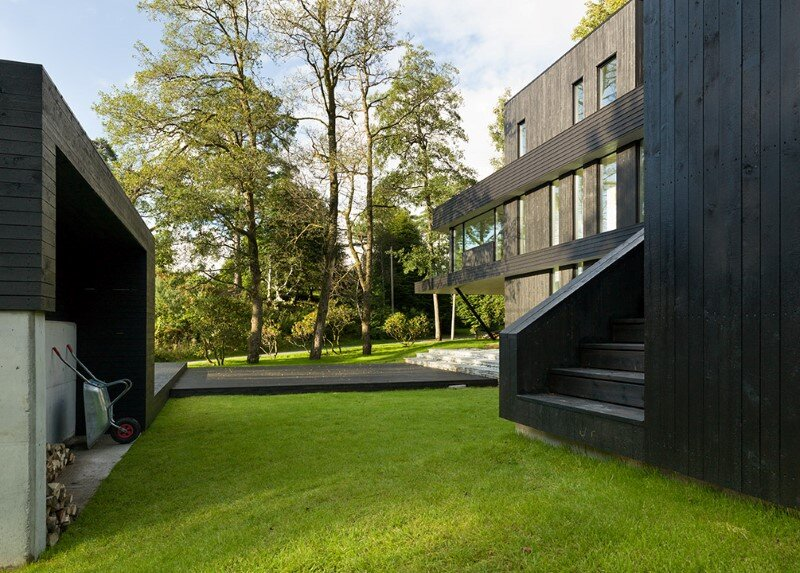 Modern Villa by Saunders Architecture, in Bergen, Norway (4)
