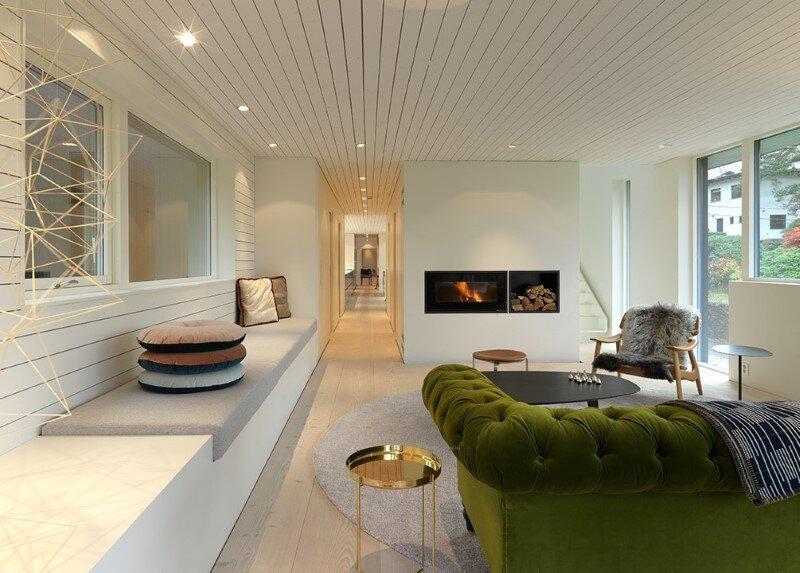 Villa S by Saunders Architecture, in Bergen, Norway (6)
