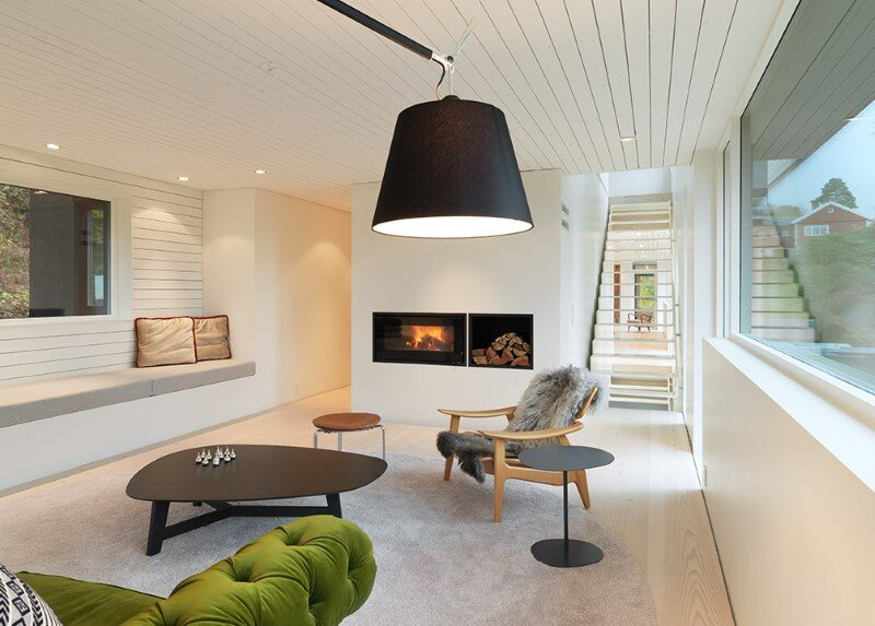 Villa S by Saunders Architecture, in Bergen, Norway (7)