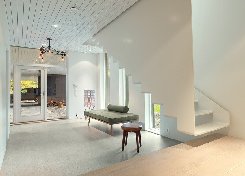 Villa S by Saunders Architecture, in Bergen, Norway (8)