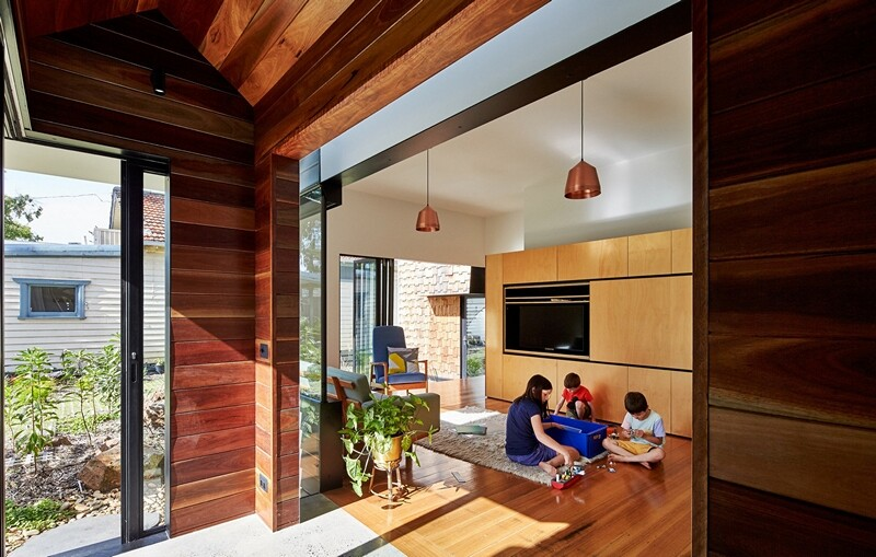 Weatherboard house - creative extension and renovation for a long-term family home (16)