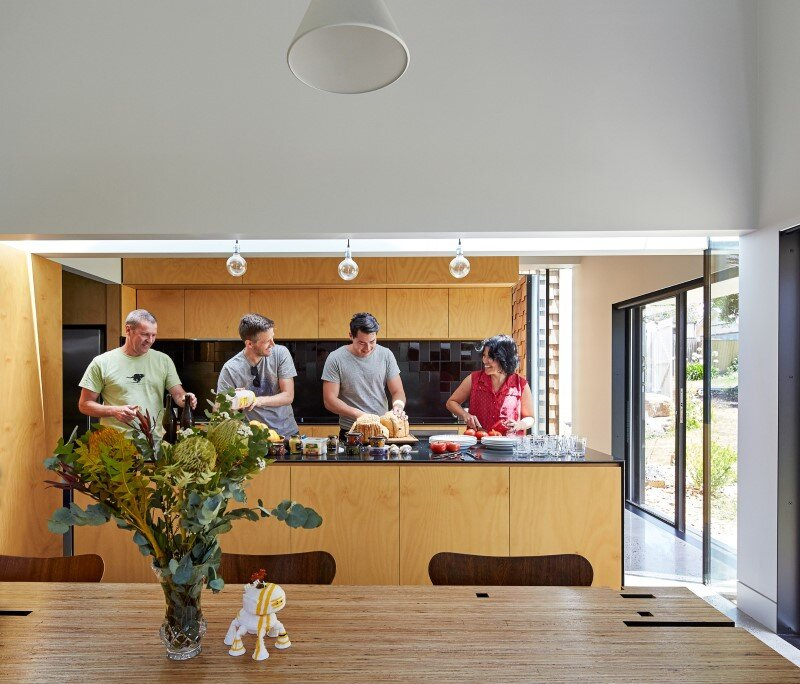Weatherboard house - creative extension and renovation for a long-term family home (25)