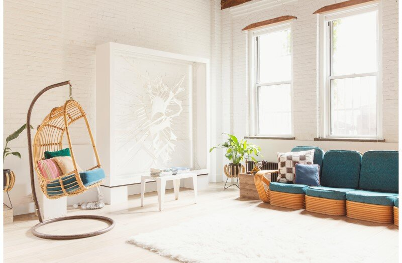 Williamsburg loft - industrial space turned into a comfortable home and work space (2)