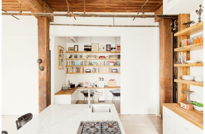 Williamsburg loft - industrial space turned into a comfortable home and work space (6)