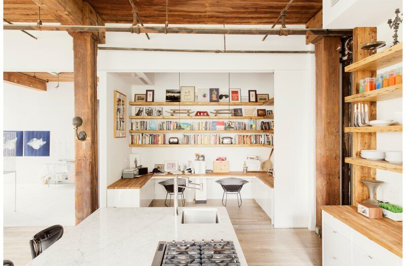 Williamsburg loft - industrial space turned into a comfortable home and work space (7)