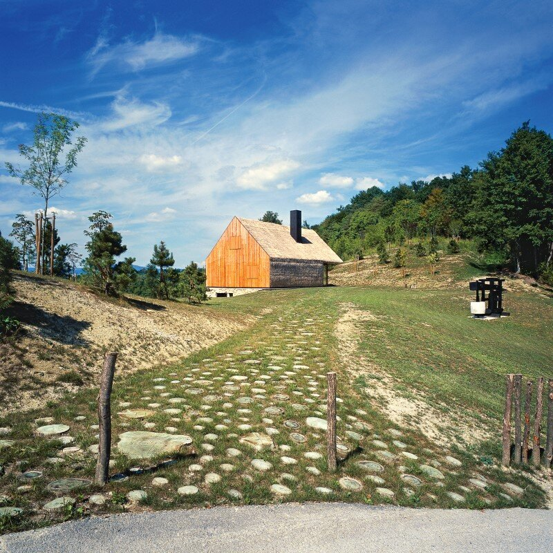 Zagorje traditional cottage – a contemporary architectural interpretation by Proarh