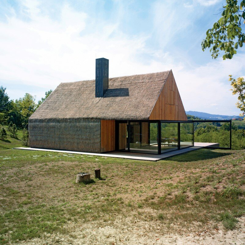 Zagorje traditional cottage - a contemporary architectural interpretation by Proarh (11)