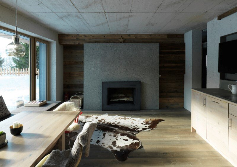 Alpine chalet - a combination of modern and traditional alpine elements (8)