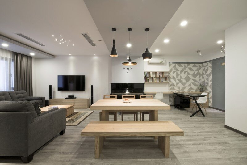 Apartment in Hanoi with minimalist aesthetics - Le Studio (1)