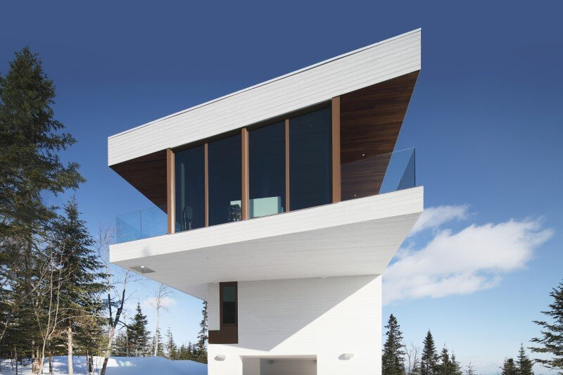 Architectural forms that make a proud statement in the Quebec landscape (1)