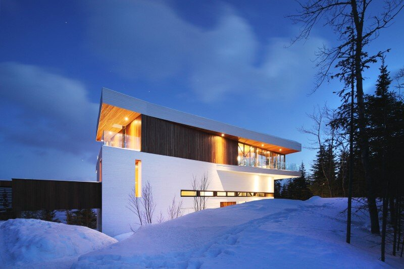 Architectural forms that make a proud statement in the Quebec landscape (12)