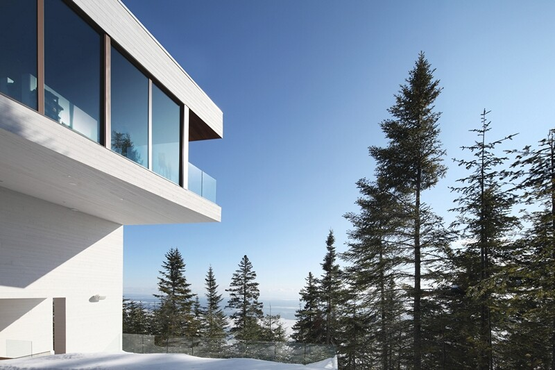 Architectural forms that make a proud statement in the Quebec landscape (15)