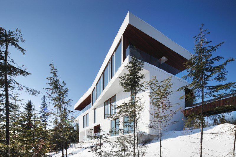 Architectural forms that make a proud statement in the Quebec landscape (2)
