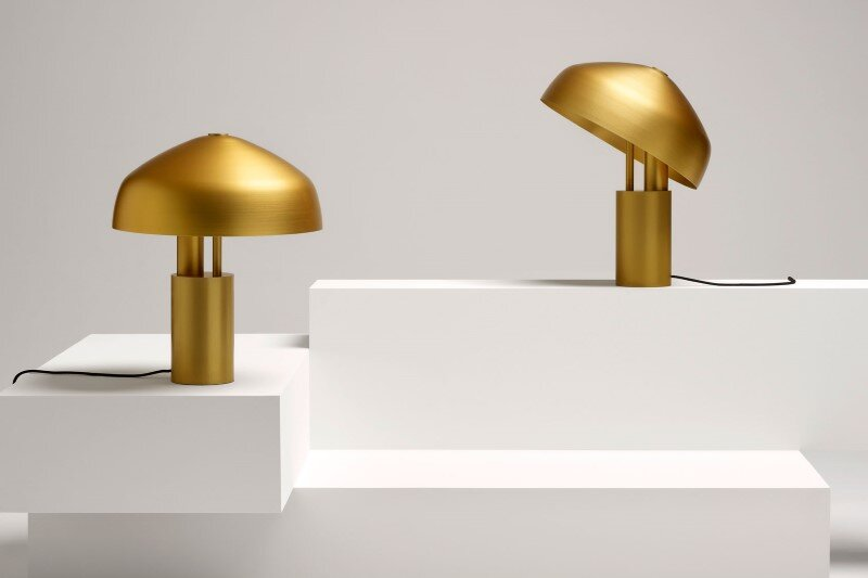 Aura Desk Lamp is designed by Melbourne-based Ross Gardam 2