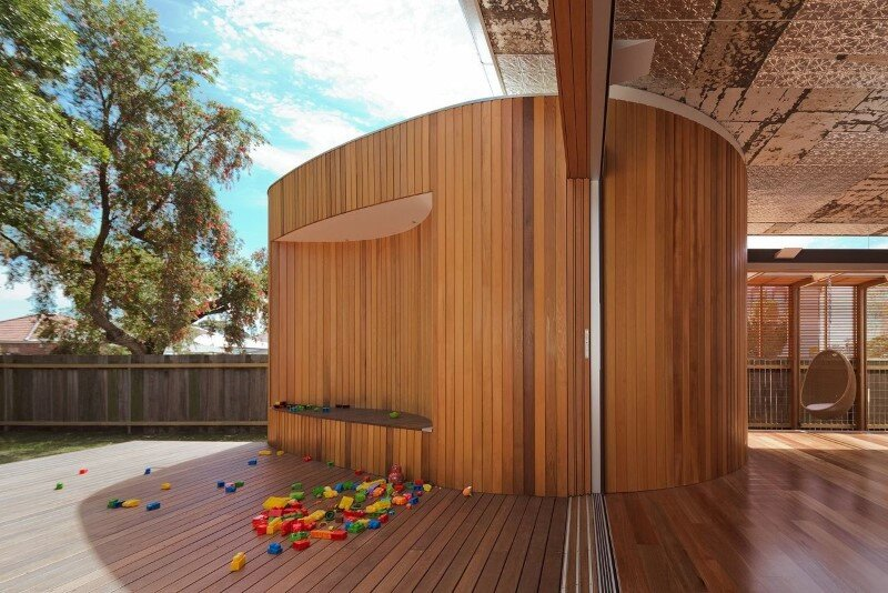 Bold conceptual approach for adding a open kitchen to a semi-detached home - Dulwich Hill Residence (14)