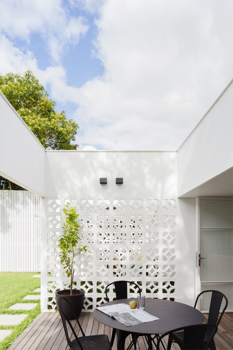Breeze Block Home was reorganized to create a more contemporary open plan (10)