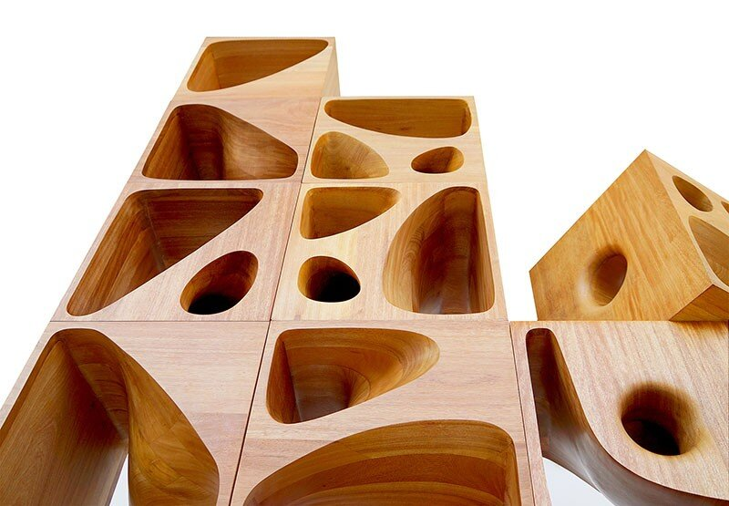 CATable wooden cubes designed for playful cats (3)