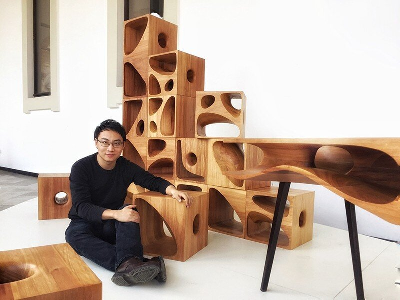 CATable wooden cubes designed for playful cats (4)