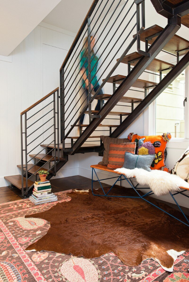 Duboce Park Home - modern industrial interior with sustainable aesthetics (18)