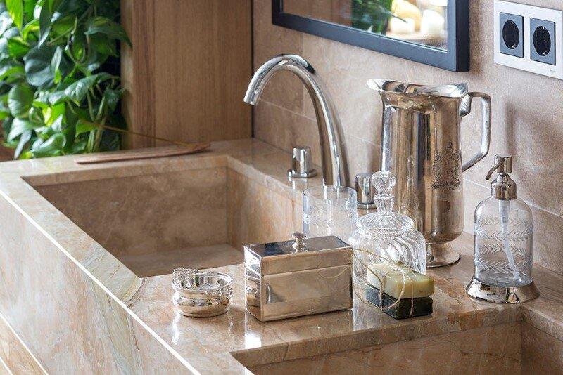 Eco-design that integrates fitomuduli with live plants - bathroom interior design (11)