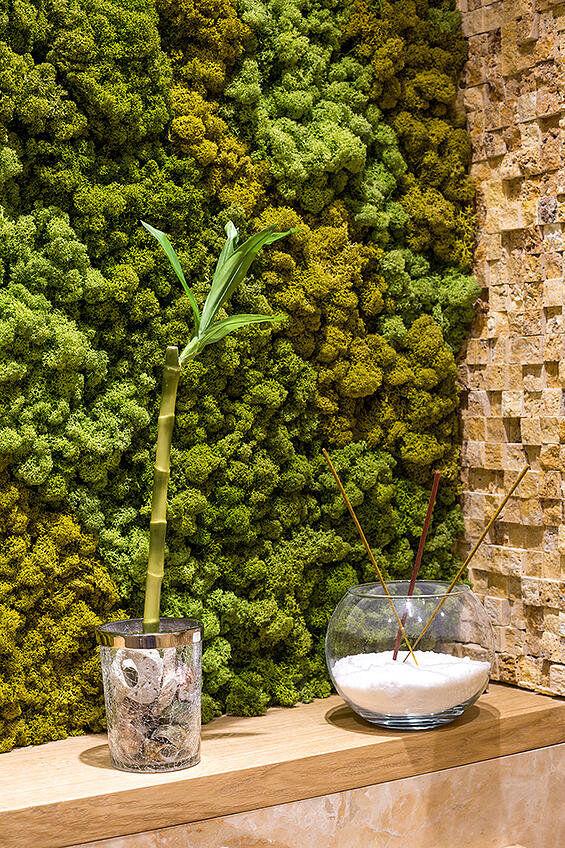 Ecodesign that integrates fitomuduli with live plants - bathroom interior design (15)