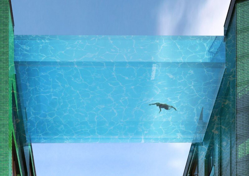 Embassy Gardens Sky Pool - Suspended Glass Swimming Pool (4)