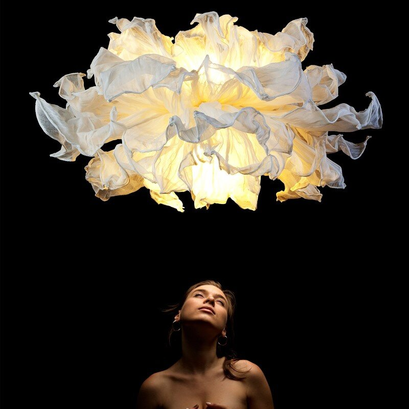 Fandango hanging lamp inspired by flamenco dance (3)