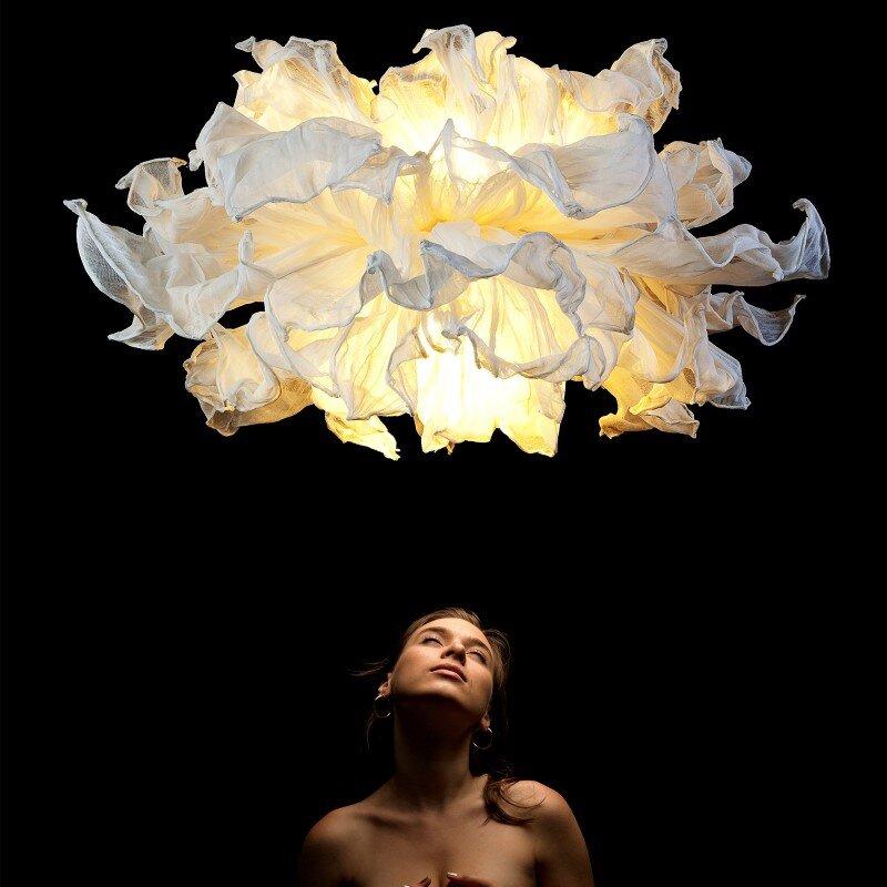 Fandango hanging lamp inspired by flamenco dance (3)