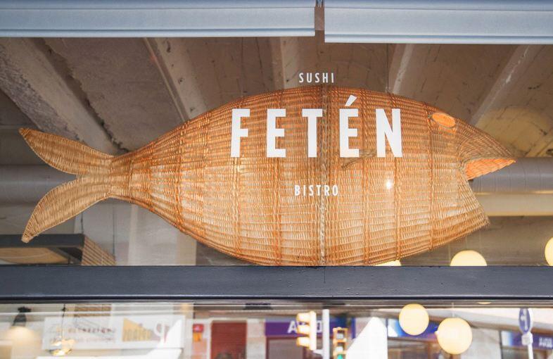Fetén sushi-bistro in Barcelona by Piedra Papel Tijera Interiorismo (2)