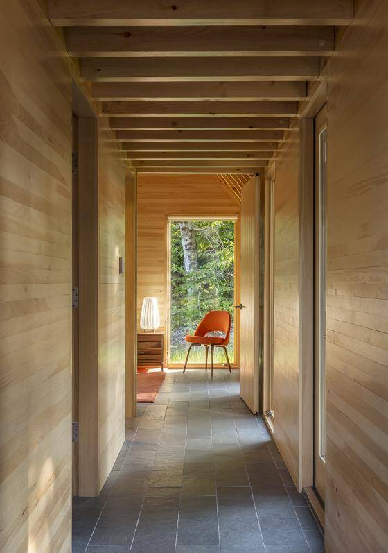 Five wood cottages for Marlboro Music Festival (3)