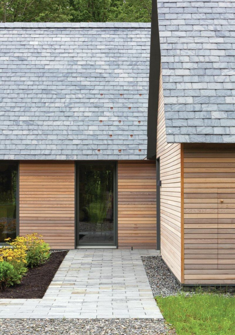 Five wood cottages for Marlboro Music Festival (4)