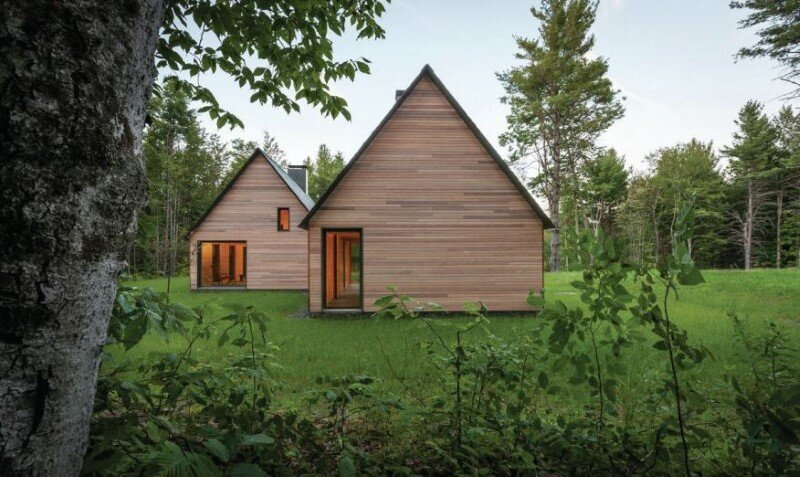 Five wooden cottages for Marlboro Music Festival (5)