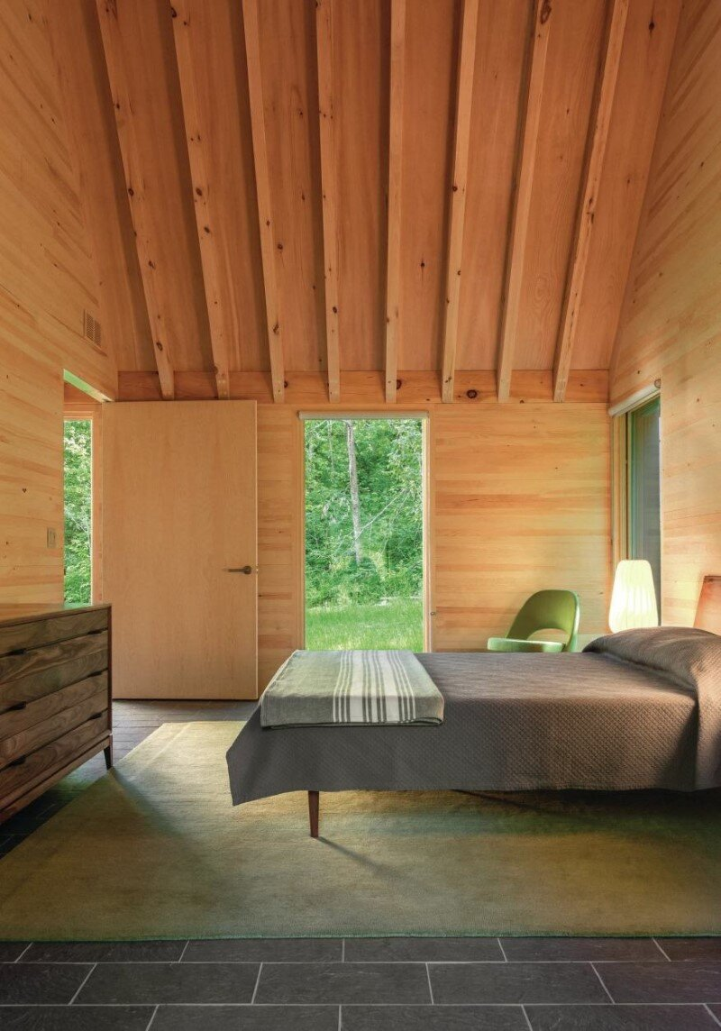 Five wooden cottages for Marlboro Music Festival (7)