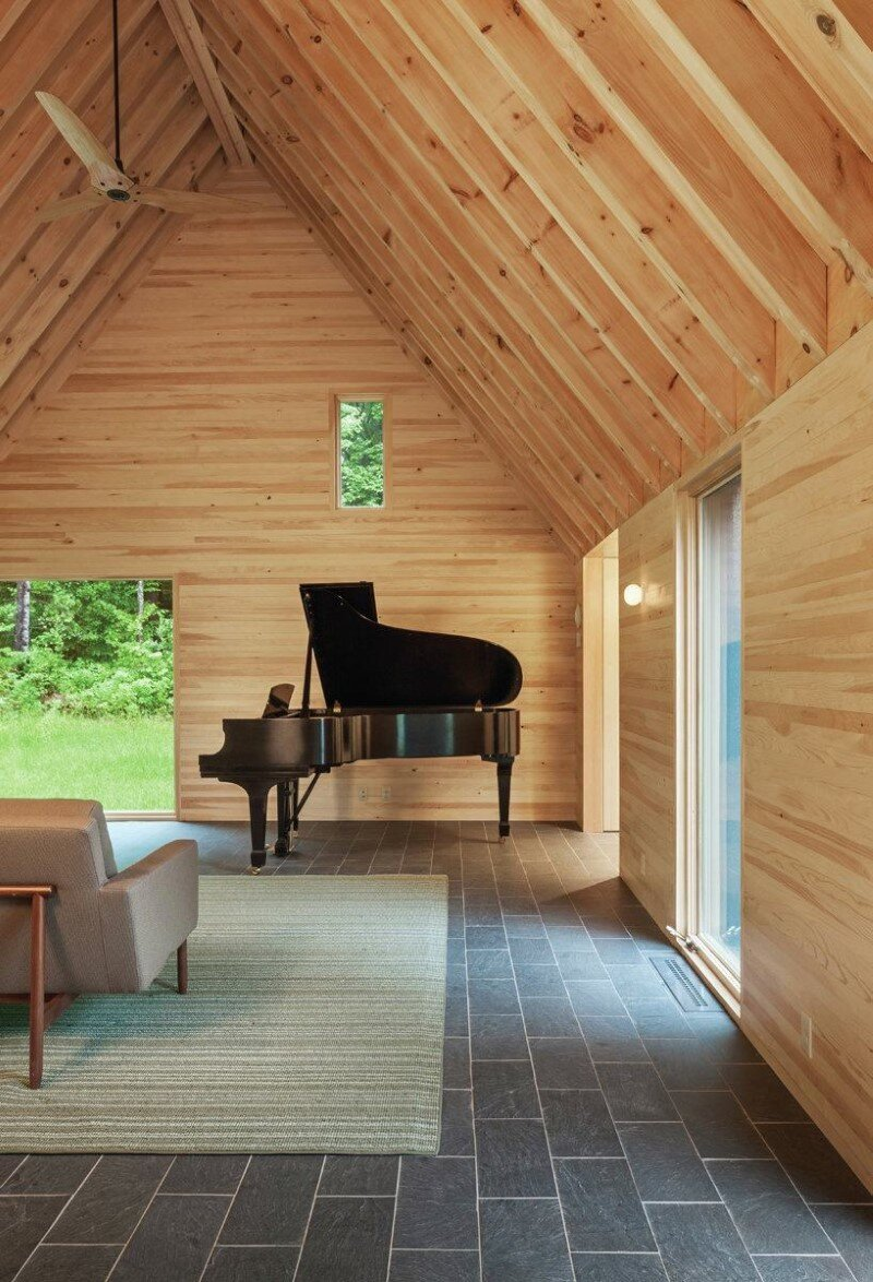 Five wooden cottages for Marlboro Music Festival (9)