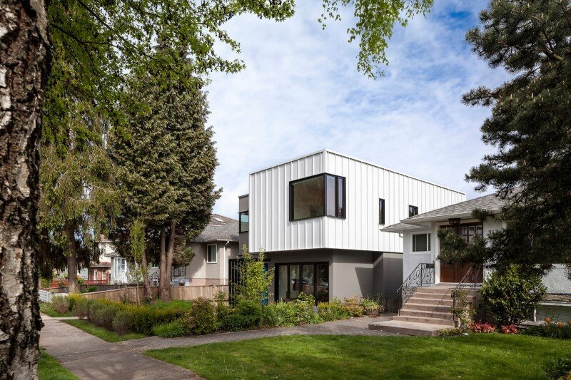 Grade House in East Vancouver by Measured Architecture