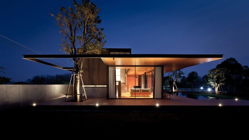 Concrete House by Idin Architects - Thai vacation house (11)