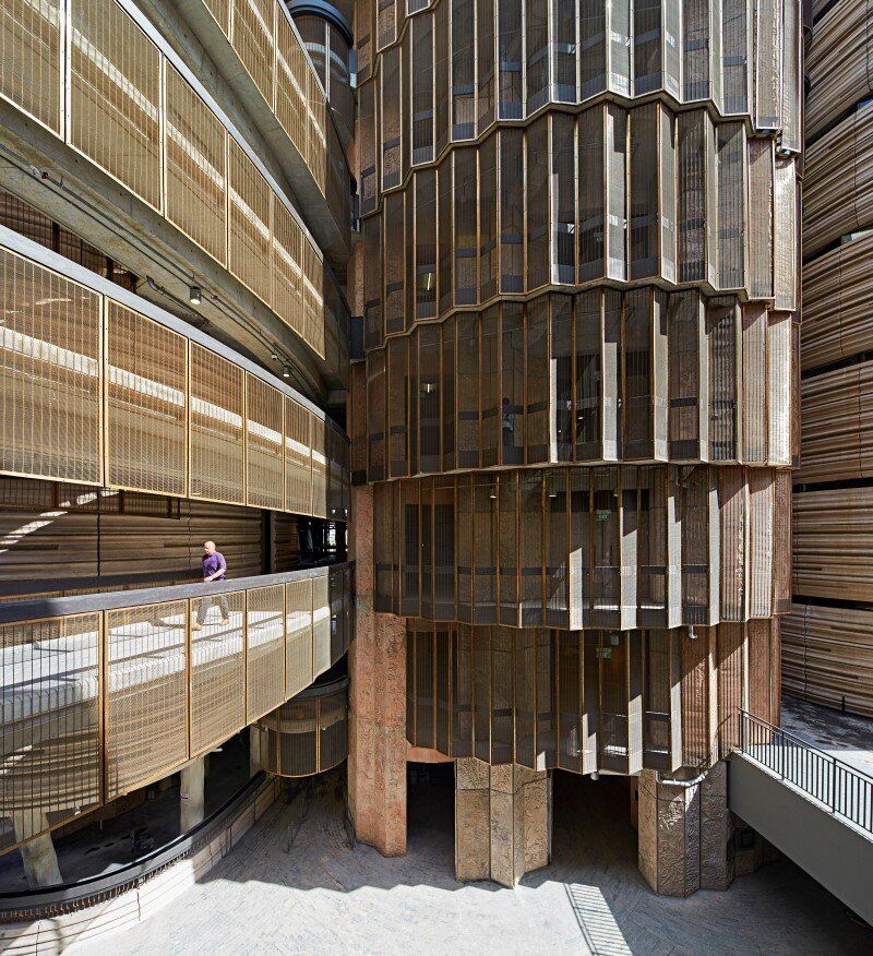 Learning Hub designed by Heatherwick Studio for a university in Singapore (6)