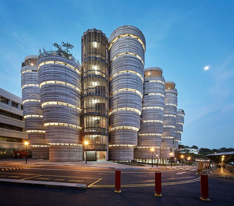 Learning Hub designed by Heatherwick Studio for a university in Singapore (7)