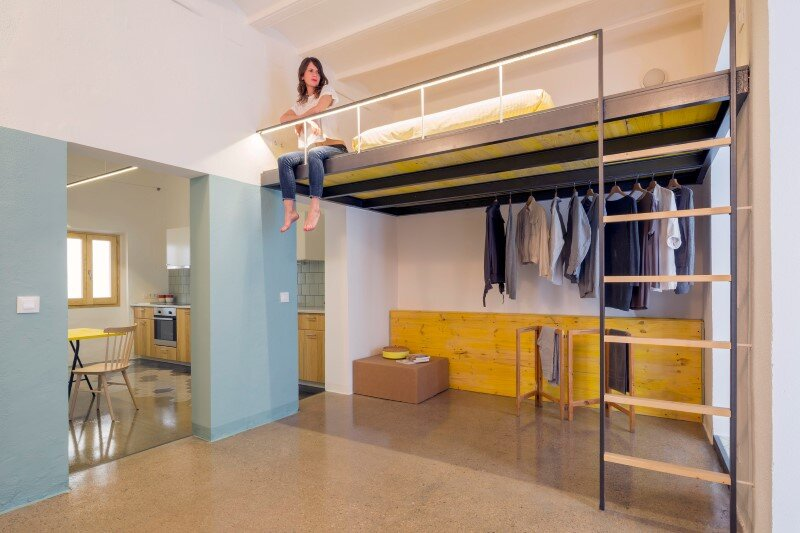 diy bunk loft ideas for small rooms high ceilings - Loft Bed is a Good Option for Rooms with High Ceilings