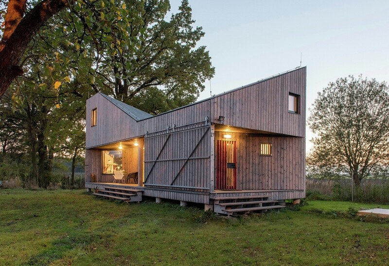 Low-energy wooden house Zilvar - ASGK Design (14)