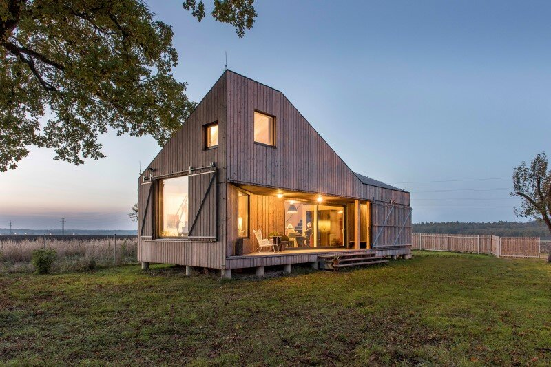 Low-energy wooden house Zilvar - ASGK Design (2)